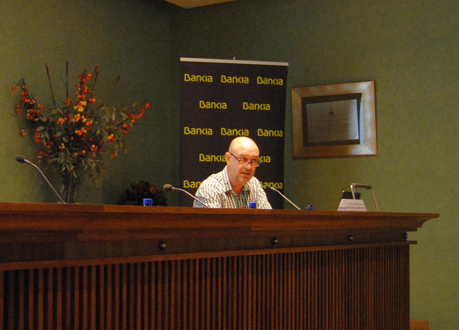 Carles Escrivà, jefe de sección de certificación vegetal de la Conselleria