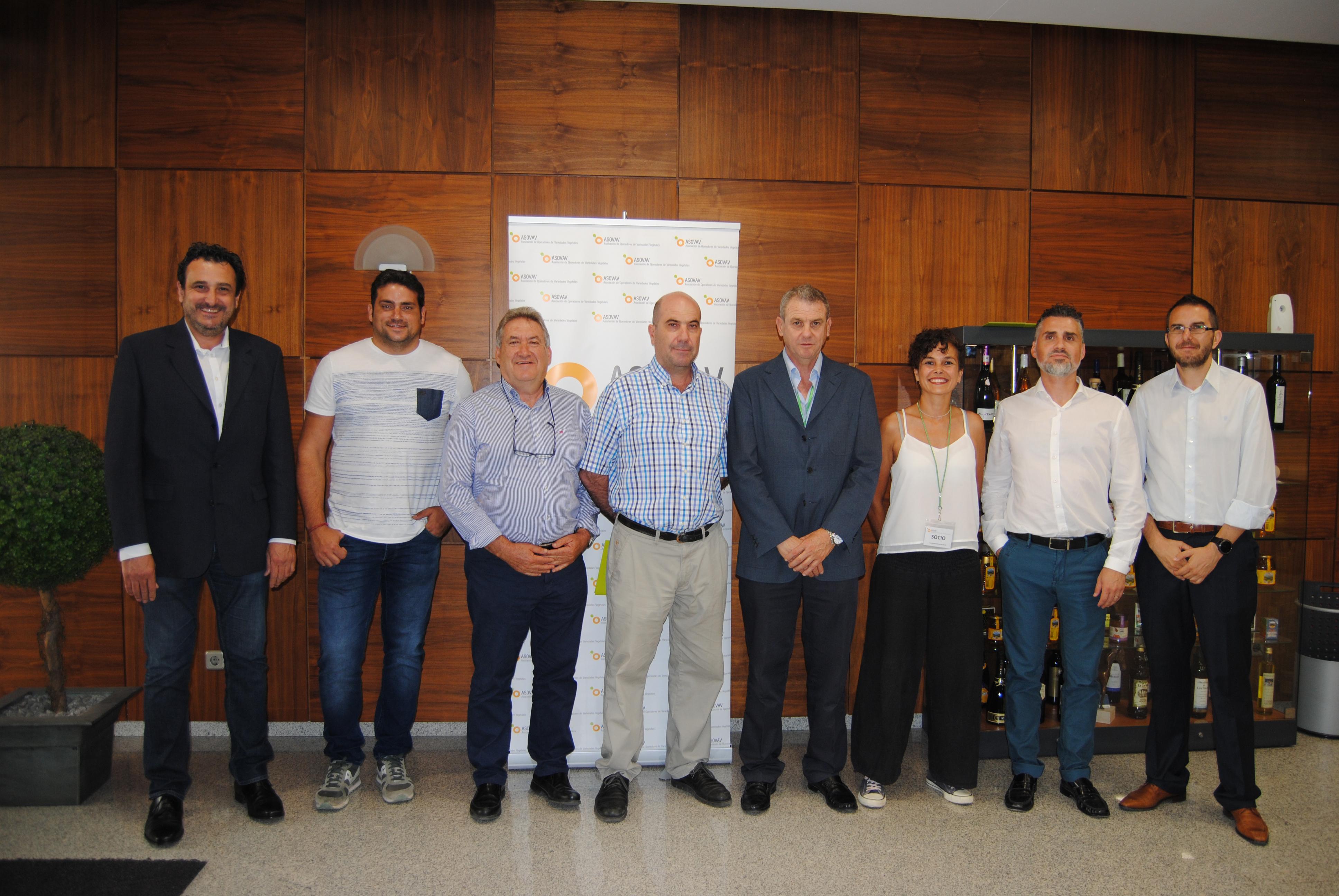 Foto Comité Ejecutivo de ASOVAV